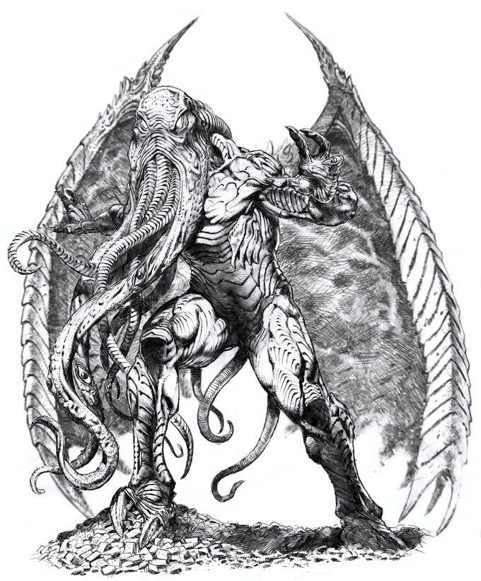 Avatar Concept Art by Danny Cruz