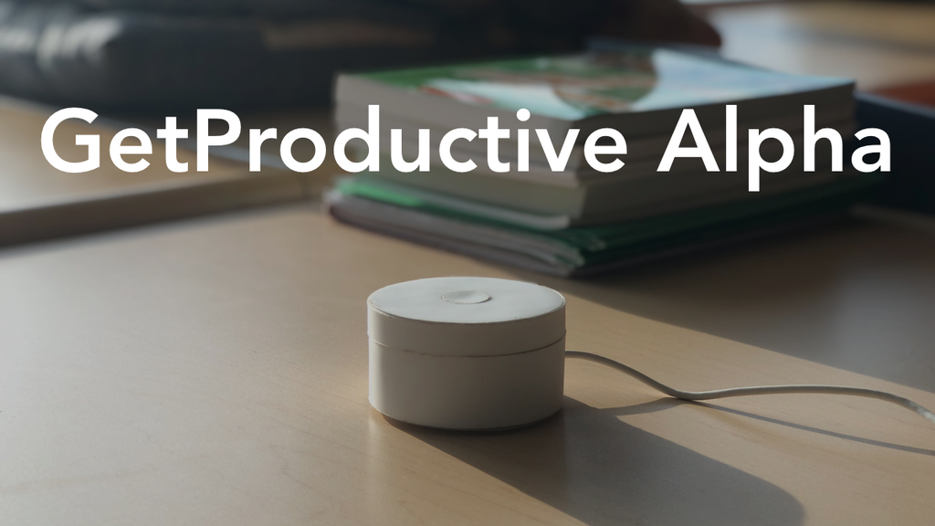 GetProductive Alpha - The Most Powerful Productivity Timer project video thumbnail