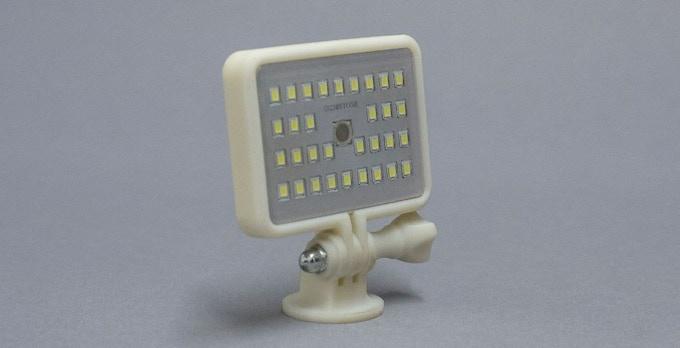 Prototype of Go-Pro flash screw mount
