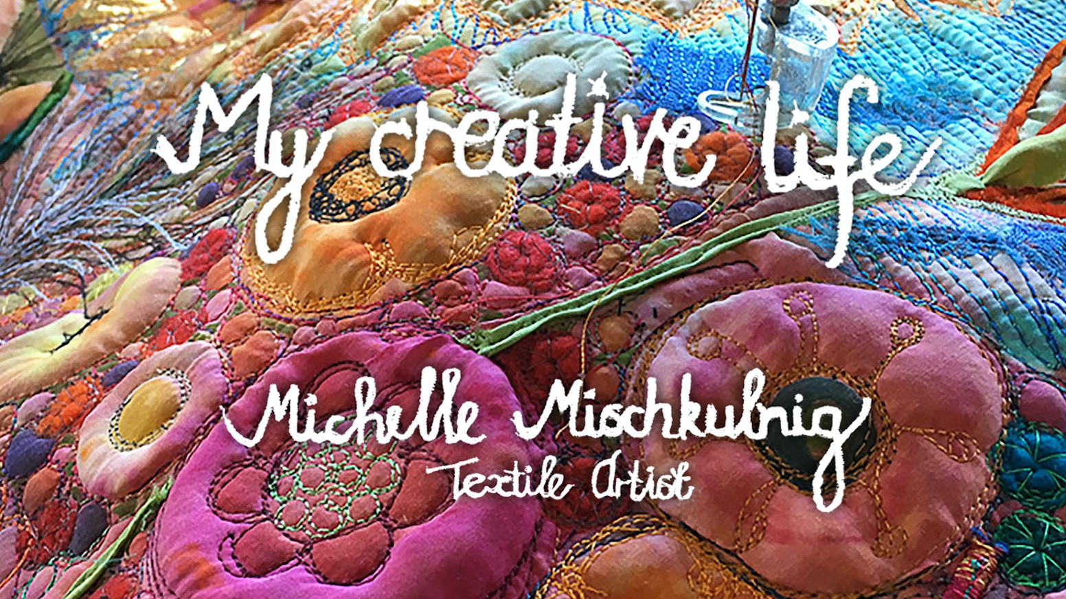 My Creative Life is a carefully crafted art book capturing the textile art and inspiration of textile artist Michelle Mischkulnig.