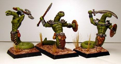 Primeval Serpentmen Warriors