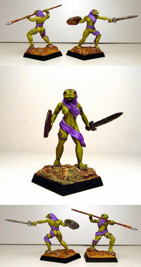 Serpentwomen Warriors
