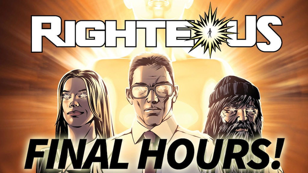Righteous Comic Series Graphic Novels Volumes 1 & 2 project video thumbnail