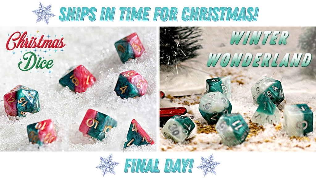Halfsies Dice: The Christmas Edition project video thumbnail