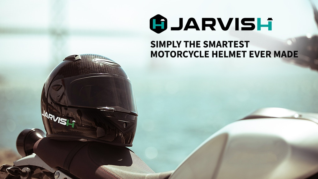 JARVISH: The Smartest Motorcycle Helmet Ever Made project video thumbnail