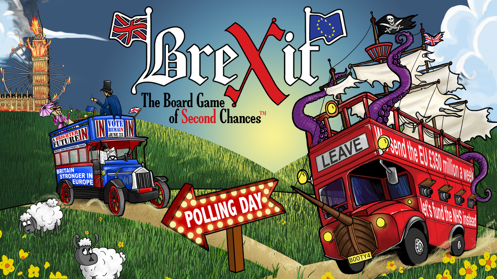 Brexit: The Board Game of Second Chances™ project video thumbnail