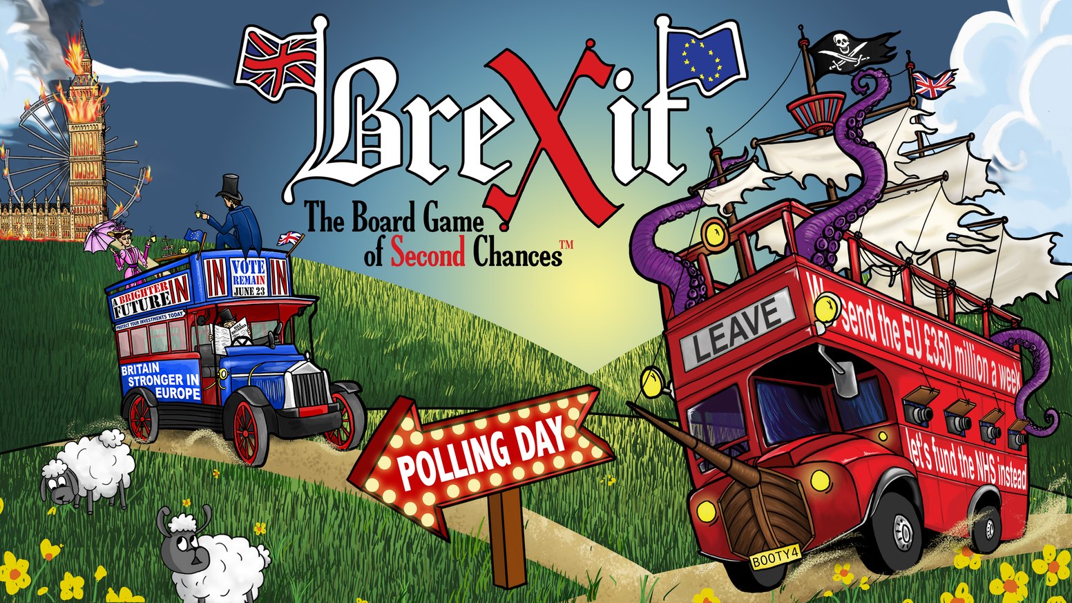 Brexit The Board Game Of Second Chances By Bad Hipster Games