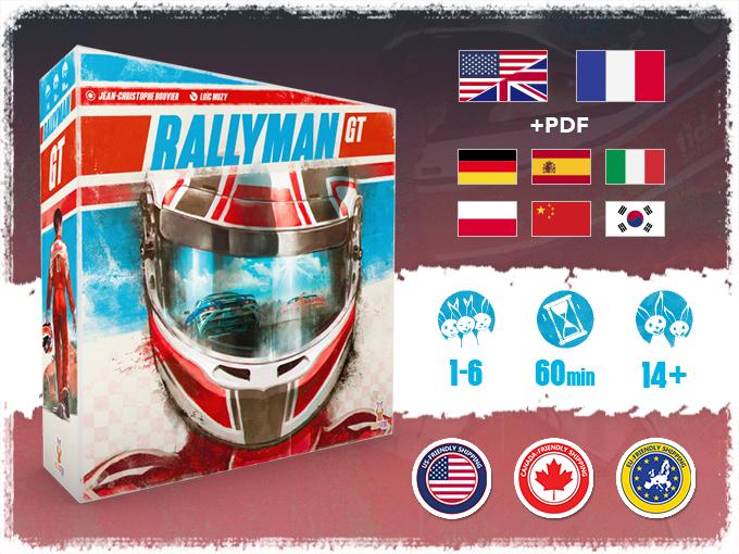 Rallyman: GT by Holy Grail Games — Kickstarter