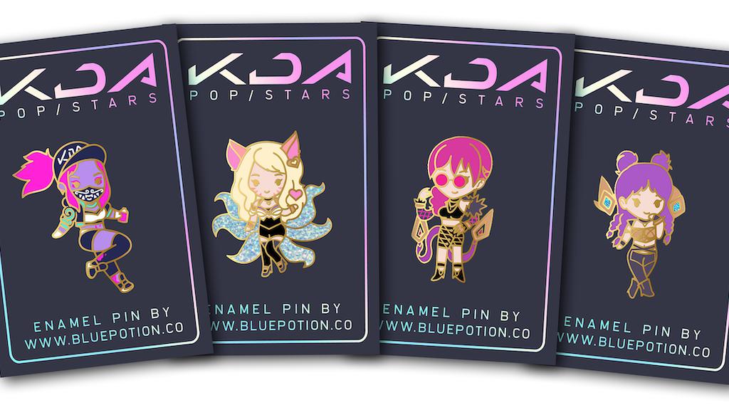 Kda Pop Stars Enamel Pins By Steph Kickstarter