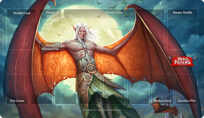 Keening Bat Form Campaign Playmat