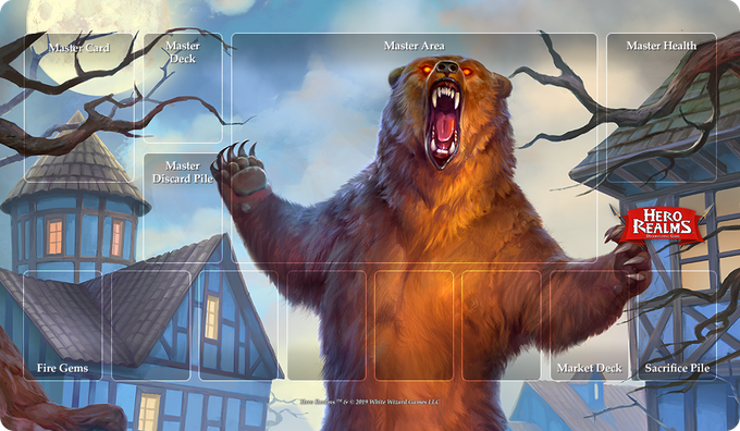 Enraged Bear Campaign Playmat