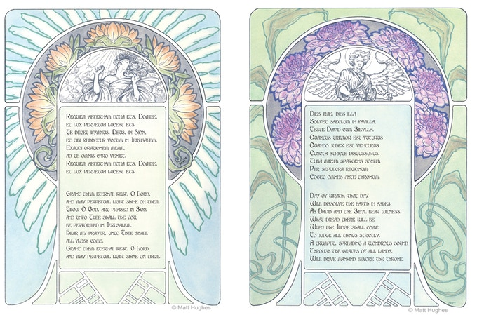 Lyric pages