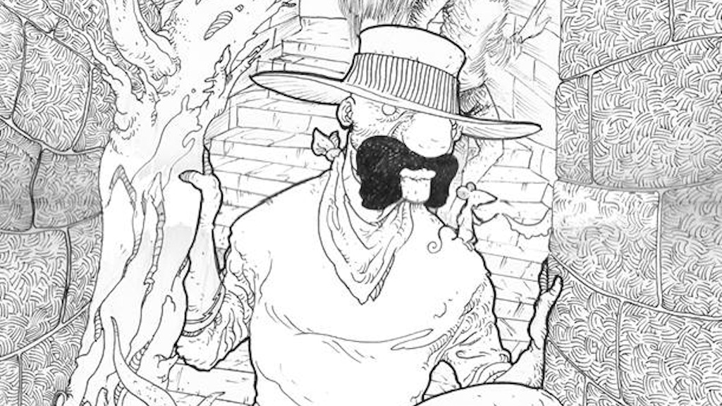 Grayhat a weird western Issue 5 project video thumbnail
