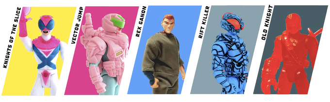 (These five styles are included, now joined by Desert Rat and Device Ninja)