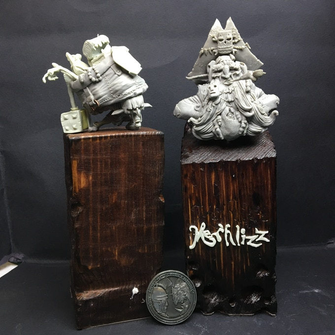 Thank you to Mer'hlizz and Orpoh, I won a Silver Medal on Green Master  (sculpture category) at Monte San Savino Contest