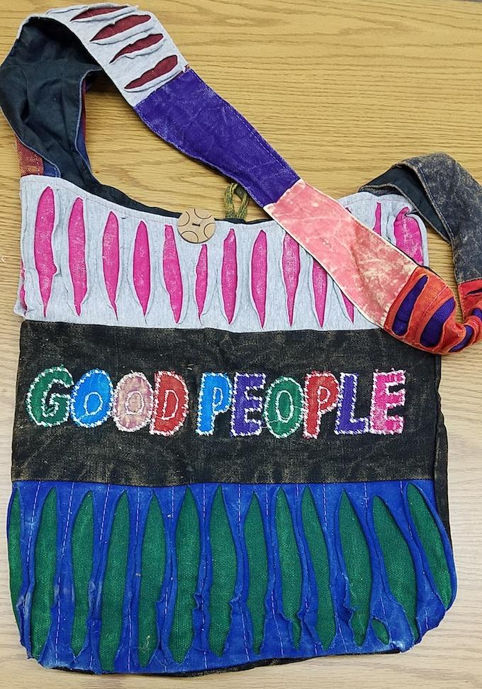 Good People Hobo Bag- $10 Pledge
