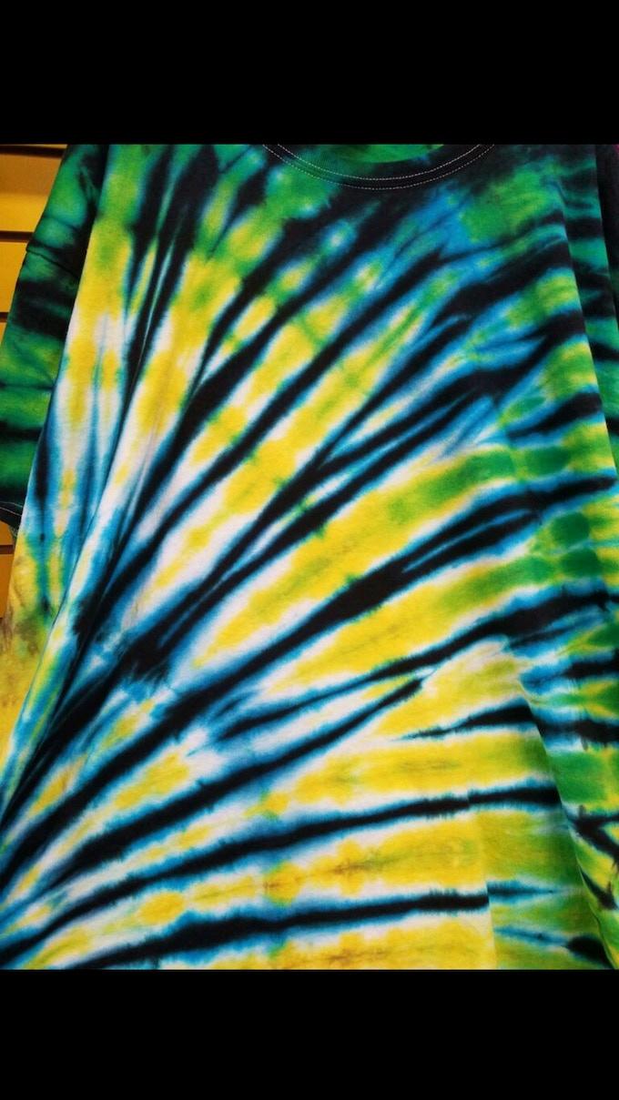 Cool Custom Tie Dye- $15 Pledge (colors vary)