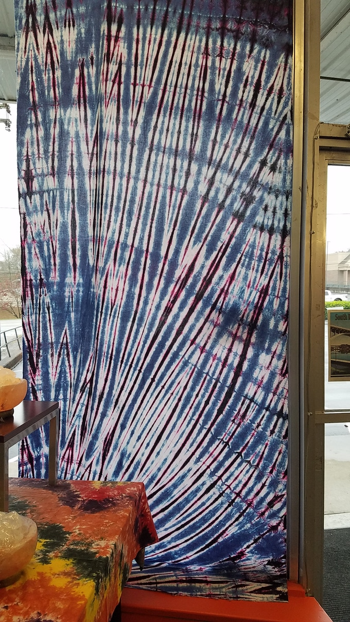 Tie Dyed Tapestry- $25 Pledge