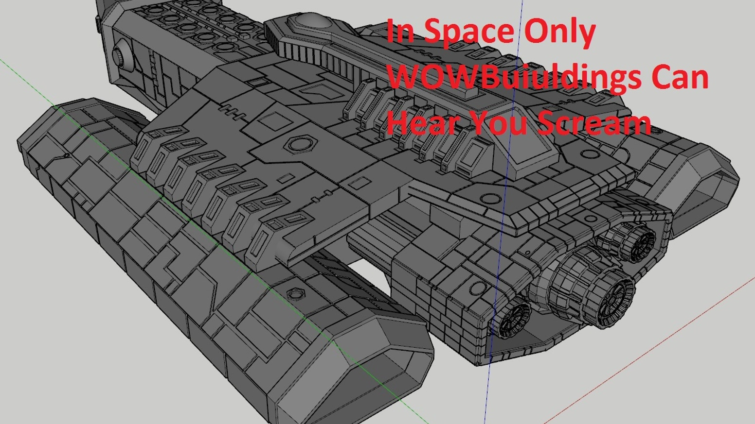 Space Battles with WOW Factor 3D print STL files by WOW Buildings