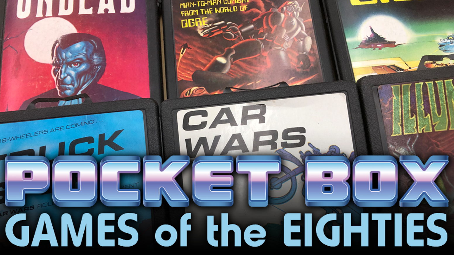 Help us create reproductions of the classic Steve Jackson Games Pocket Box titles of the eighties.