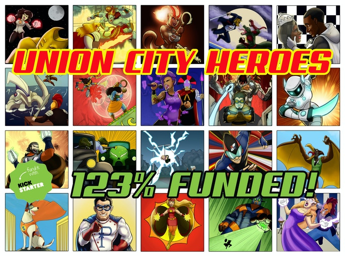 A new Comic Book Superhero Roleplaying System and Sourcebook on the world of Union City and its Heroes and villains.