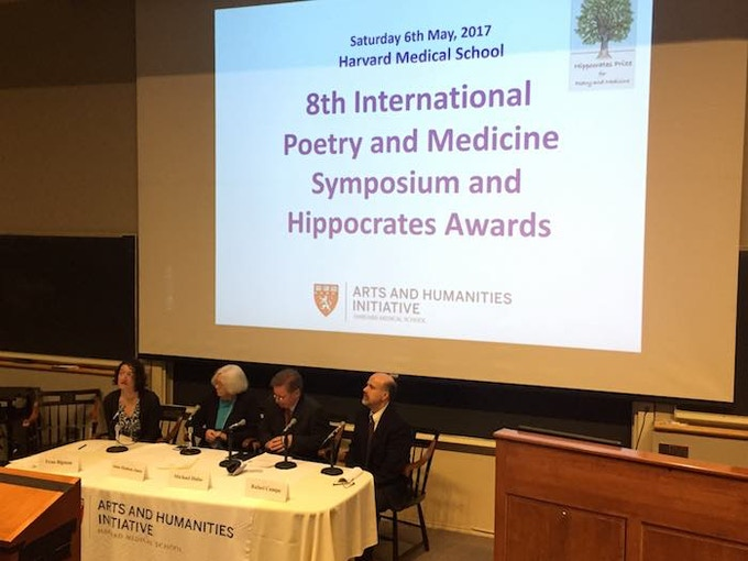 The Hippocrates Prize for Poetry and Medicine is now in its 10th year. Rewards include select volumes from the nine anthologies of prize winning poems since the prestigious prize began in 2010.