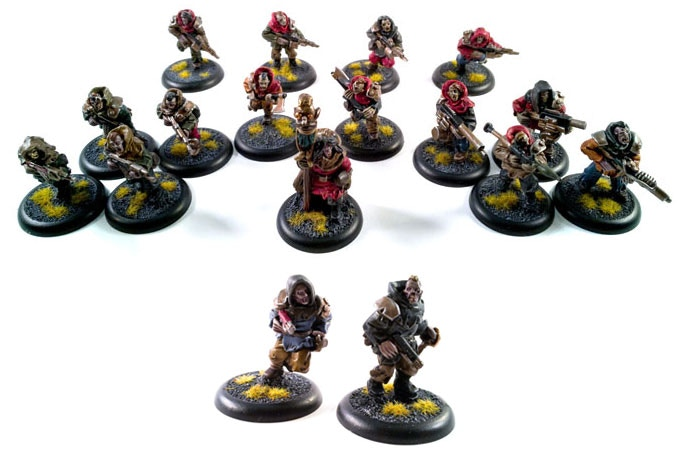 Scavengers starter set with the ruthless cutthroats