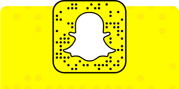 Scan this image from the camera on Snapchat. We will add you right back, I promise!