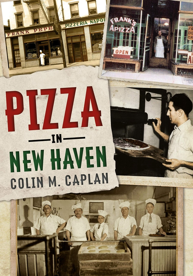 Pizza in New Haven book