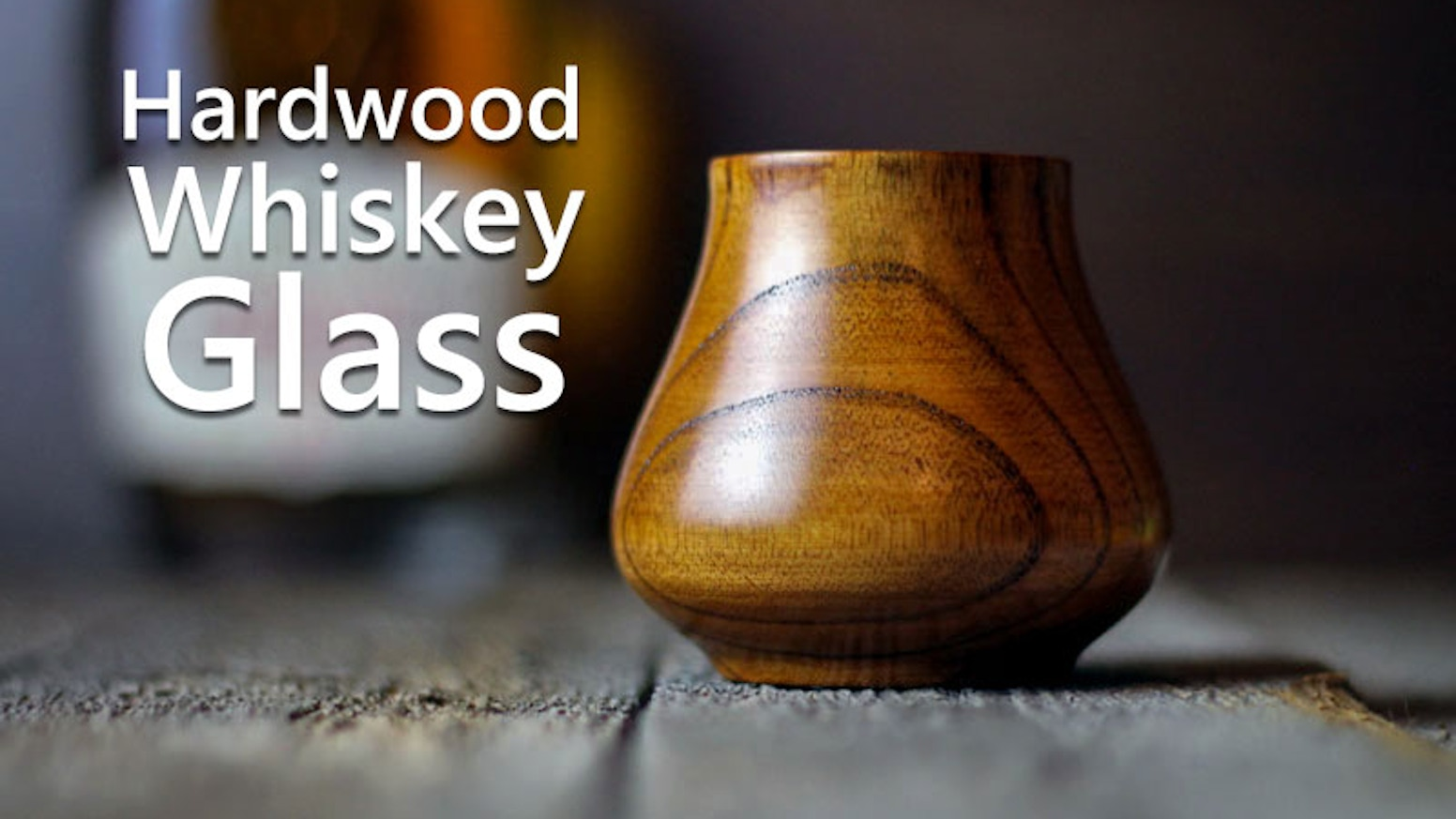 A handcrafted hardwood whiskey glass. Built with a purpose, sealed with natural beeswax.