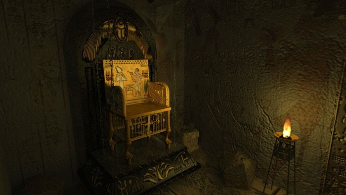 Throne Room in Treasures Chamber