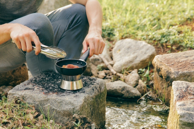 Cook anywhere, anytime