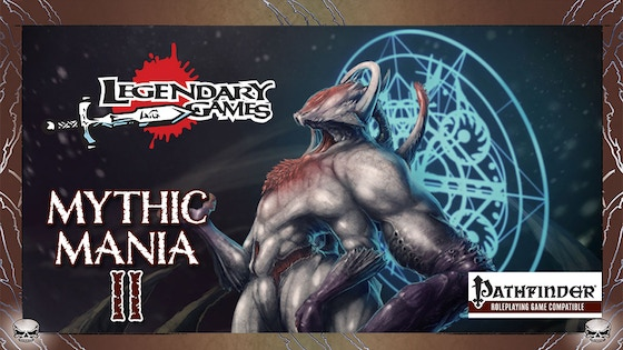 Mythic Mania 2: Two New Mythic Rulebooks for Pathfinder RPG board game