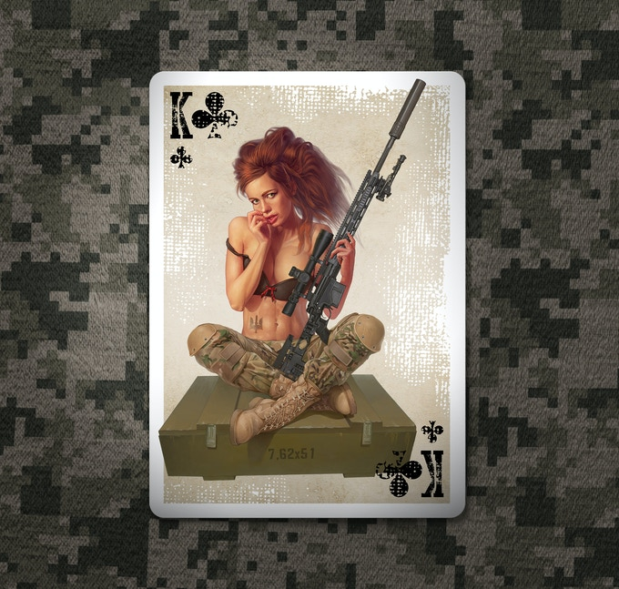 King of Clubs. Click to see extra size image