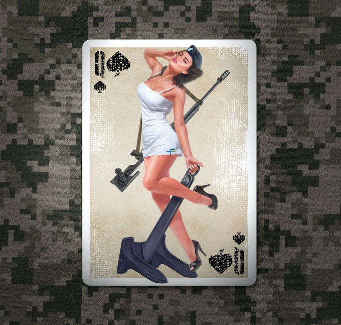 Queen of Spades. Click to see extra size image