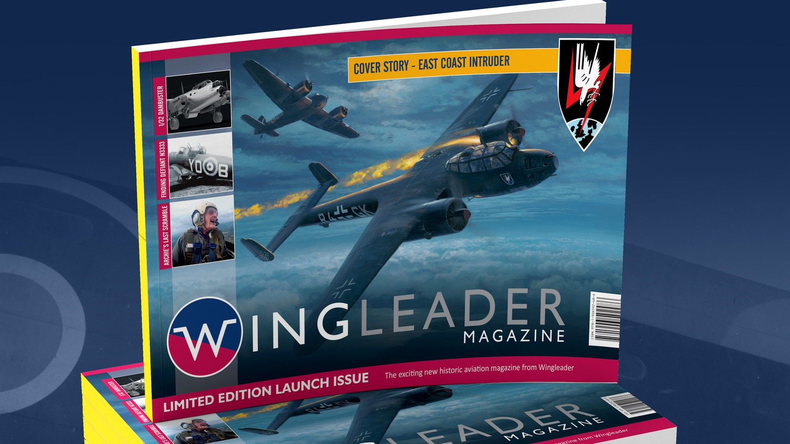 A brand new FREE historic aviation magazine for those who still run to the window when something flies over....