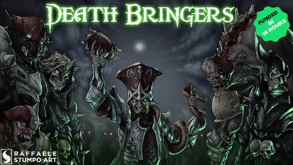 Death Bringers: Fantasy Football team project video thumbnail