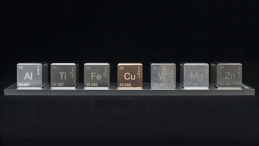 Element Blocks - 7 Periodic Elements You Can Touch
