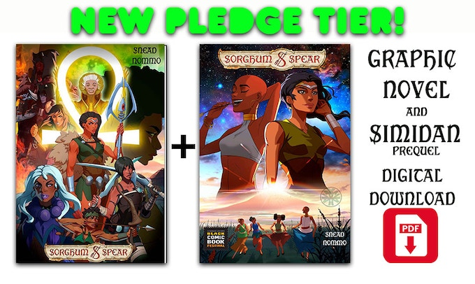 SORGHUM & SPEAR - Fantasy Graphic Novel & Animation Short by