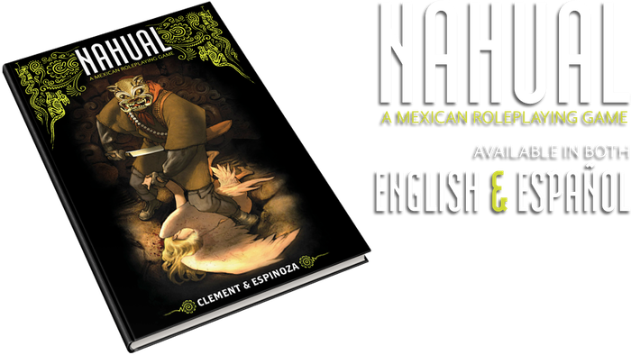 Nahual is a Powered by the Apocalypse tabletop RPG about shapeshifters in Mexico who hunt angels to make a living.