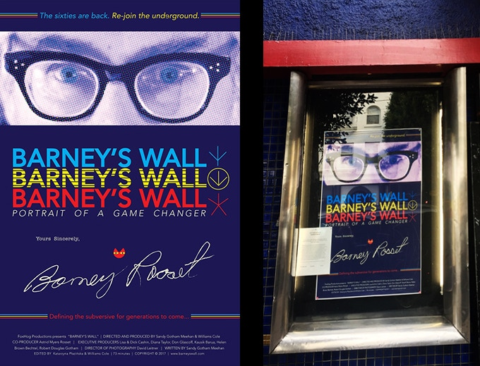 SAVING BARNEY'S WALL the film by Sandy Gotham Meehan