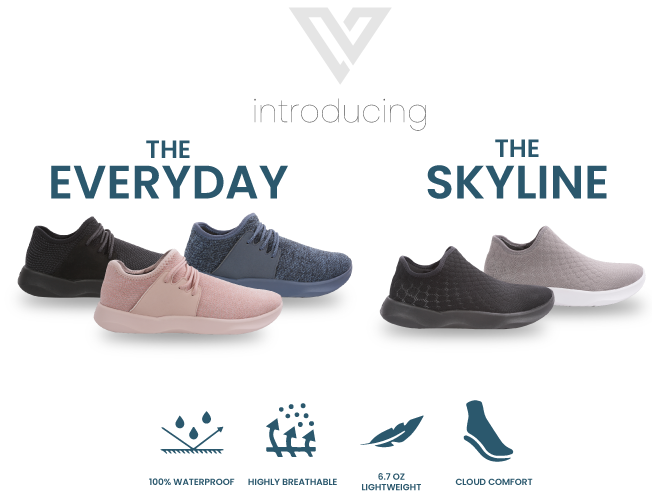 Vessi: The 100% Waterproof, Extremely Breathable Knit Shoe