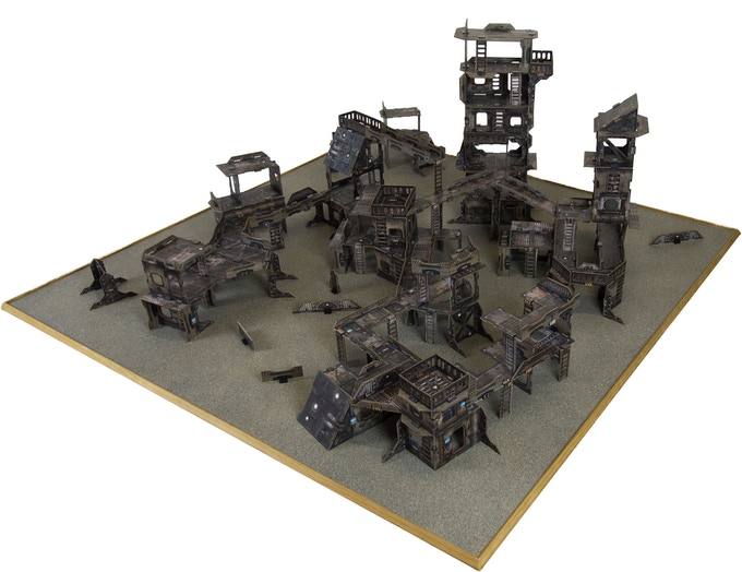 Metro Morph gives you the ability to fill a whole table with awesome terrain
