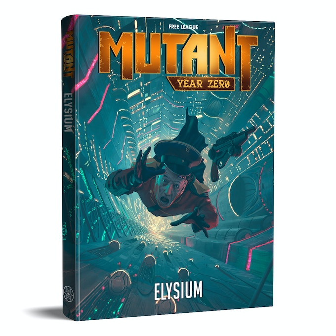 Mutant: Elysium - Roleplaying Humanity's Final Fall by Fria