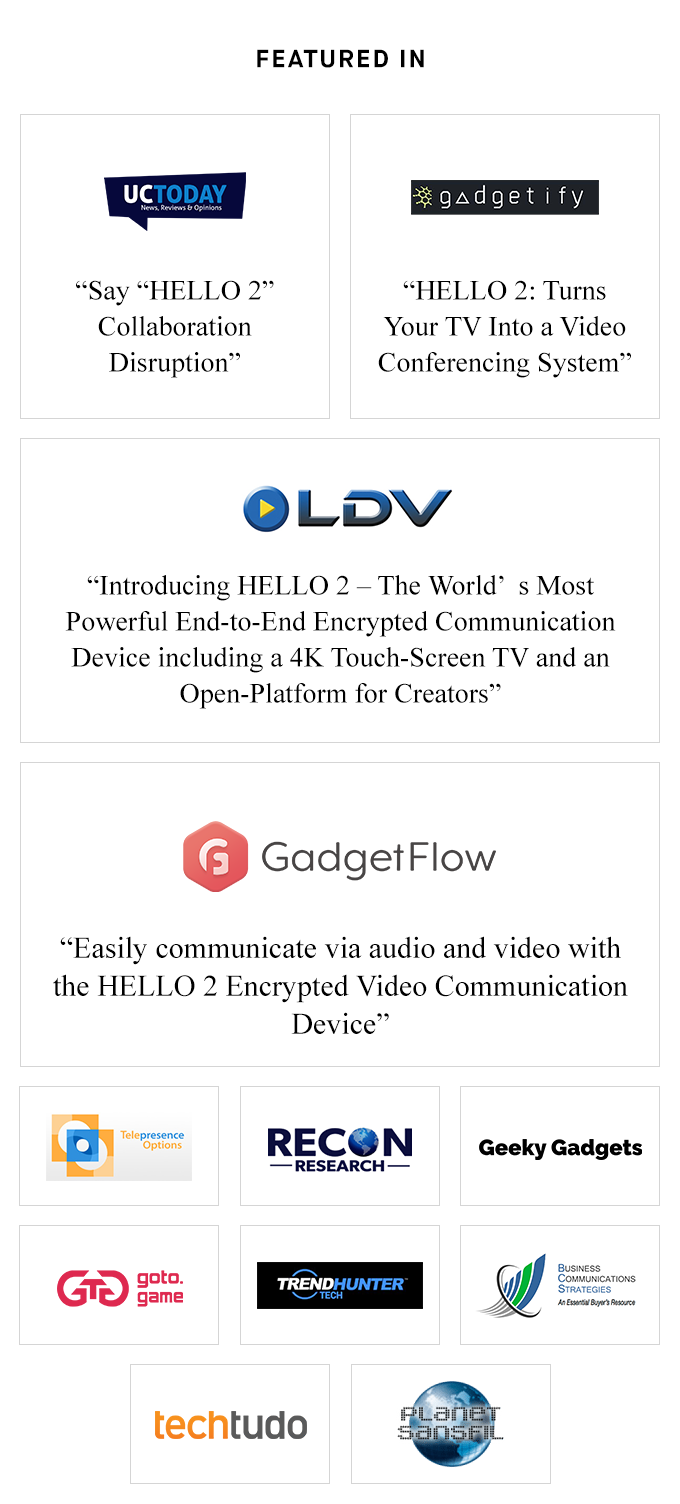 HELLO 2 — World's Most Powerful Communication Device by HELLO