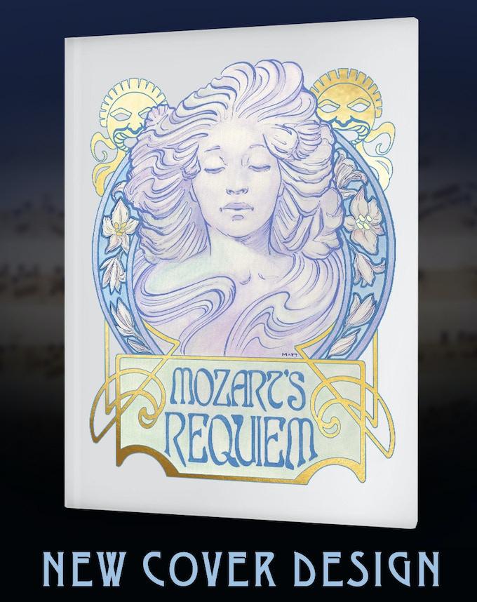 New Cover Design for Mozart's Requiem: An Illuminated Manuscript