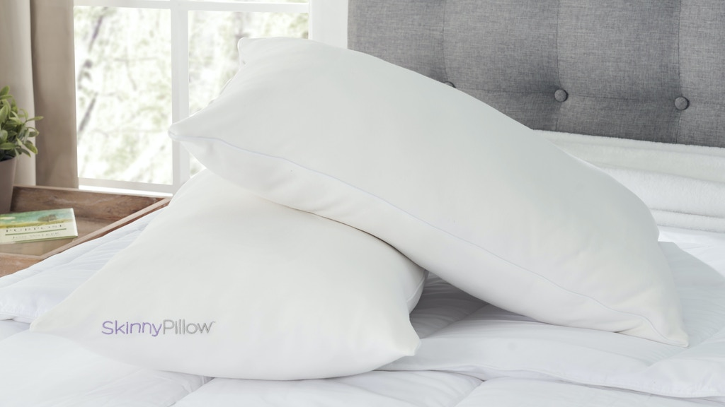 SkinnyPillow: The all natural pillow.