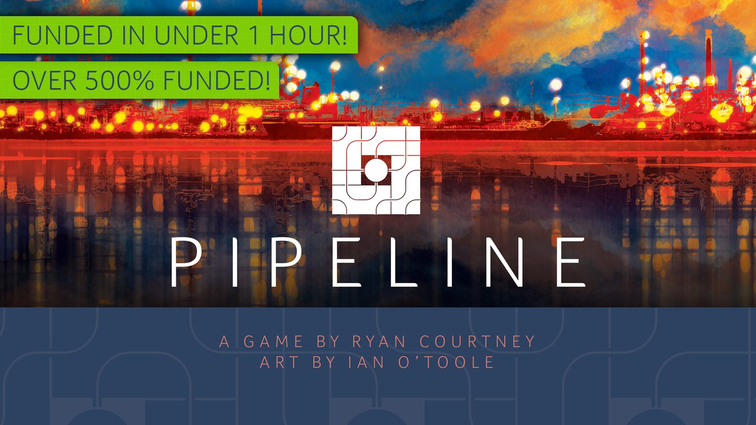 Capstone Games presents Pipeline, an economic spatial-awareness strategy game from designer Ryan Courtney with artwork by Ian O'Toole