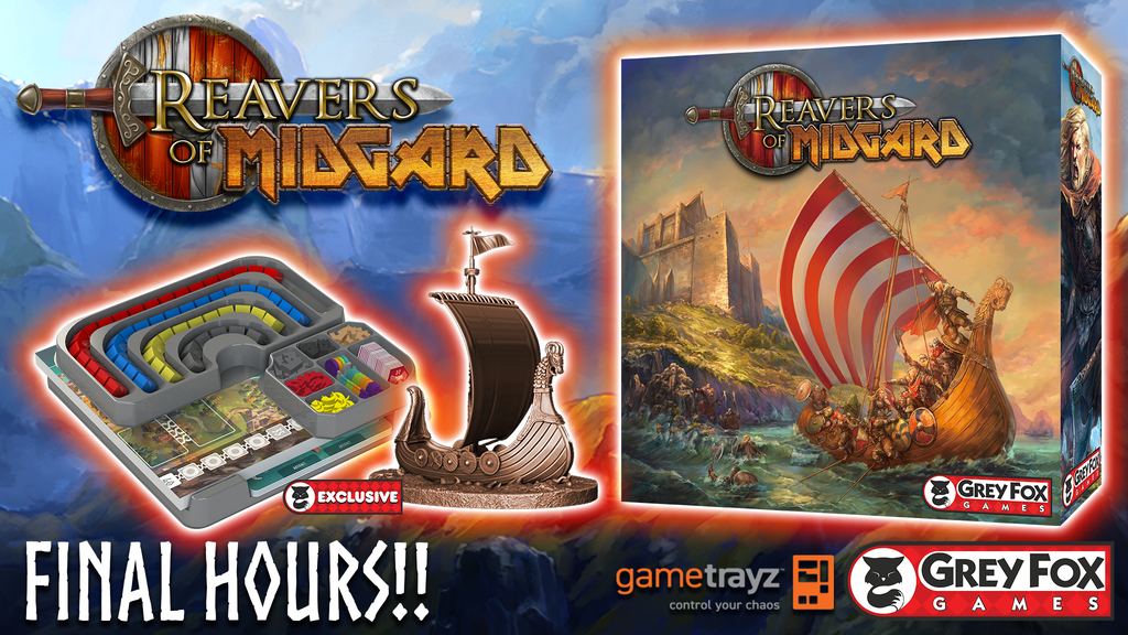 Reavers of Midgard: The sequel to Champions of Midgard project video thumbnail