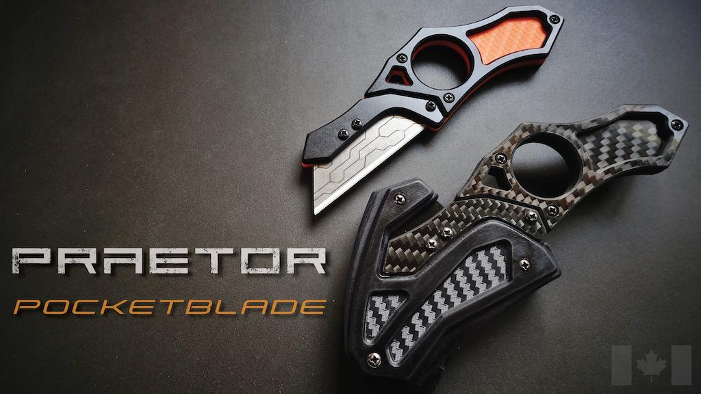Praetor Pocketblade   Rethinking the Utility Knife